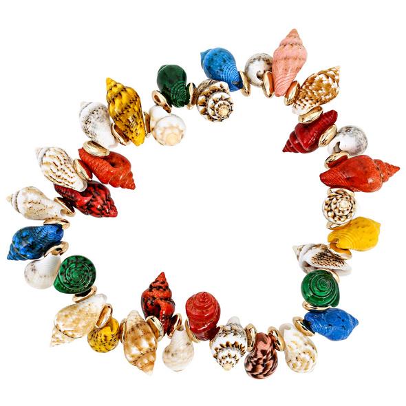 Armband - Colored Shells
