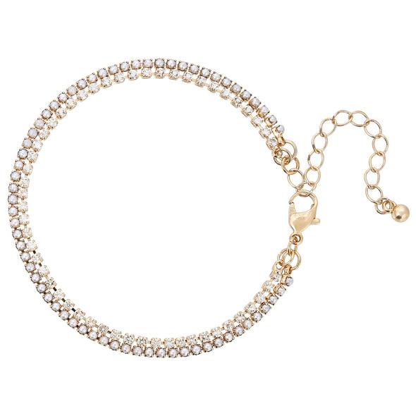 Armband - Pearls & Crystals