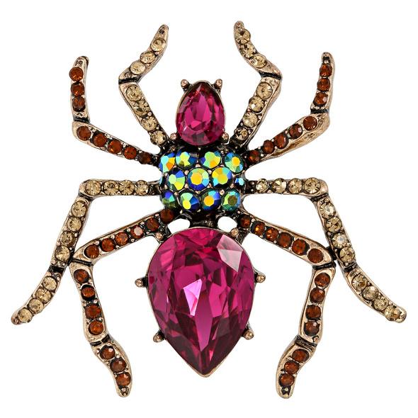 Brosche - Bright Spider