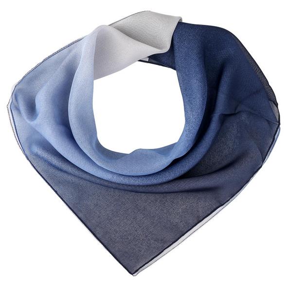 Bandana - White Blue