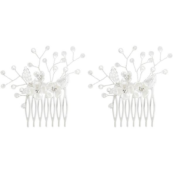 Haarkamm-Set - Pretty White