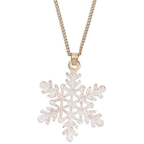 Kette - Snowflake Glitter