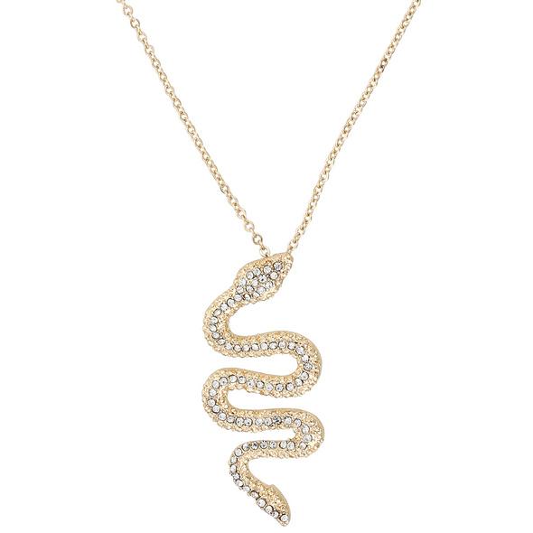 Kette - Crystal Snake