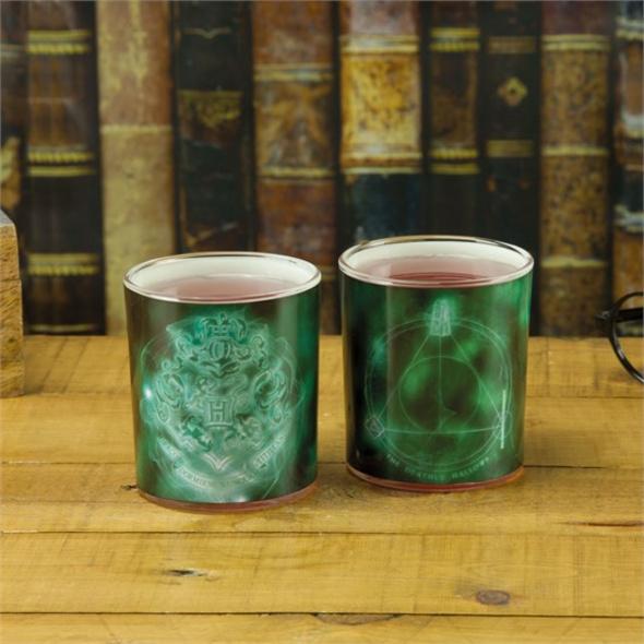 Harry Potter - Glas Patronus (2er-Set)