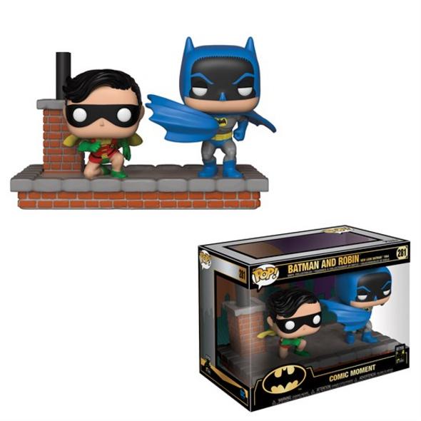Batman - POP! Vinyl-Figur 80th Batman und Robin