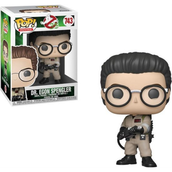 Ghostbusters - POP!-Vinyl Figur Dr. Egon Spengler