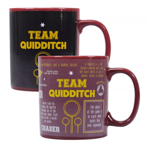 Harry Potter - Thermo-Effekt-Tasse Quidditch