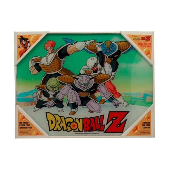 Dragon Ball Z -  Glas-Poster  Ginyu-Sonderkommando