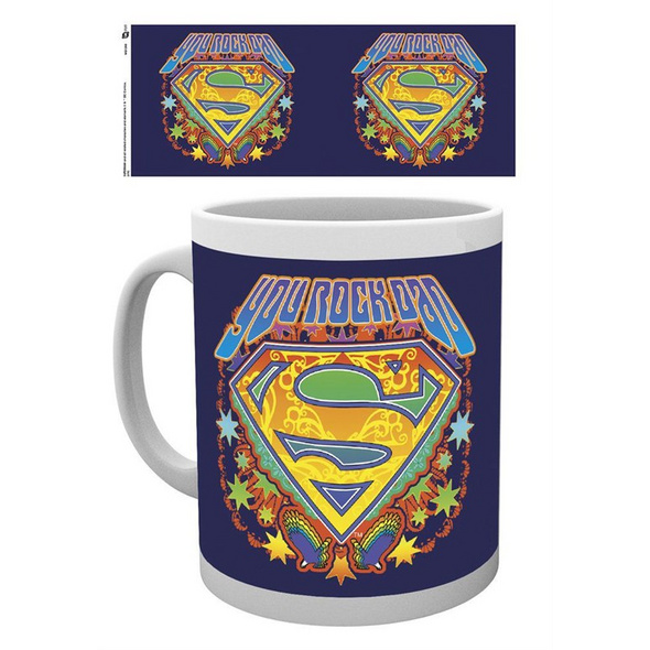 Superman - Tasse You Rock Dad