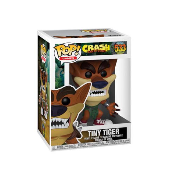 Crash Bandicoot - POP!- Vinyl Figur Tiny Tiger