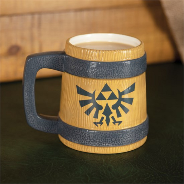 The Legend Of Zelda - Bierkrug Hyrule Wappen