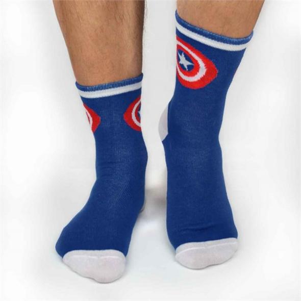 Marvel - Socken Captain America (Größe 43-46)