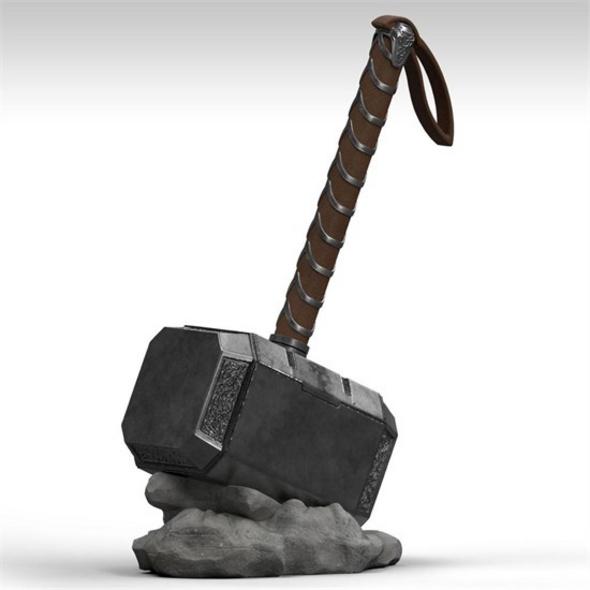 Thor - Spardose Mjölnir