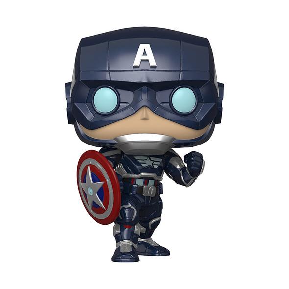 Marvel Avengers Gamerverse - POP!-Vinyl Figur Captain America