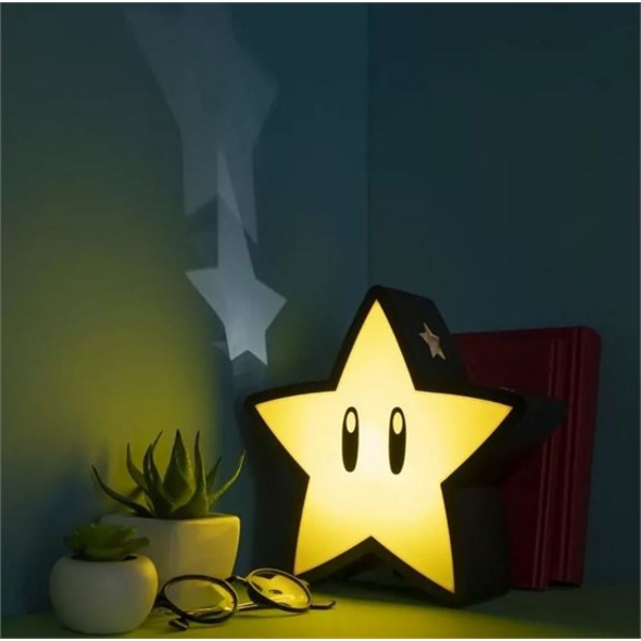 Super Mario - Lampe Super Stern