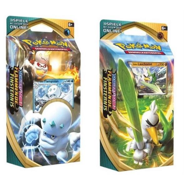 Pokémon: Sammelkartenspiel Schwert und Schild Flammende Finsternis Themendeck (zufällige Auswahl)