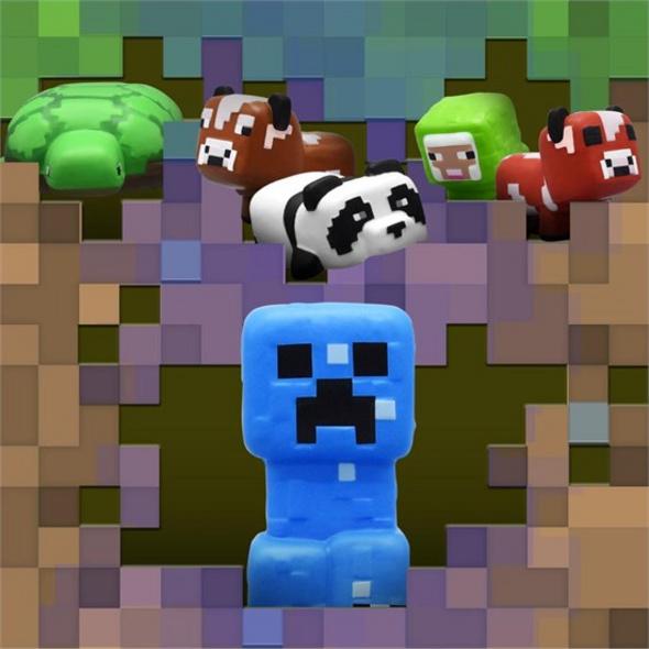 Minecraft - Anti-Stress-Ball (zufällige Auswahl)