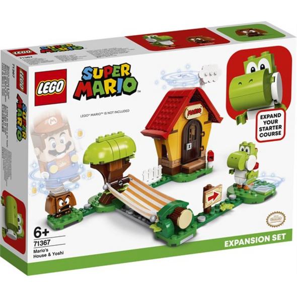 LEGO® Super Mario Marios Haus und Yoshi – Erweiterungsset - 71367