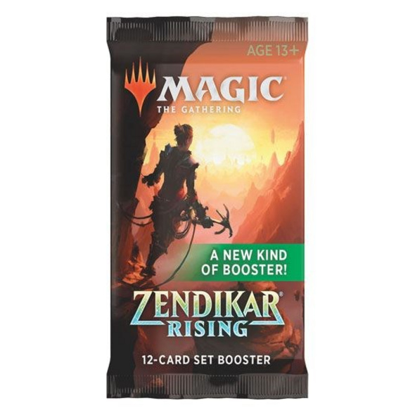 Magic the Gathering: Zendikars Rising Set Booster Pack
