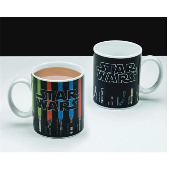 Star Wars - Tasse Lichtschwerter Thermoeffekt