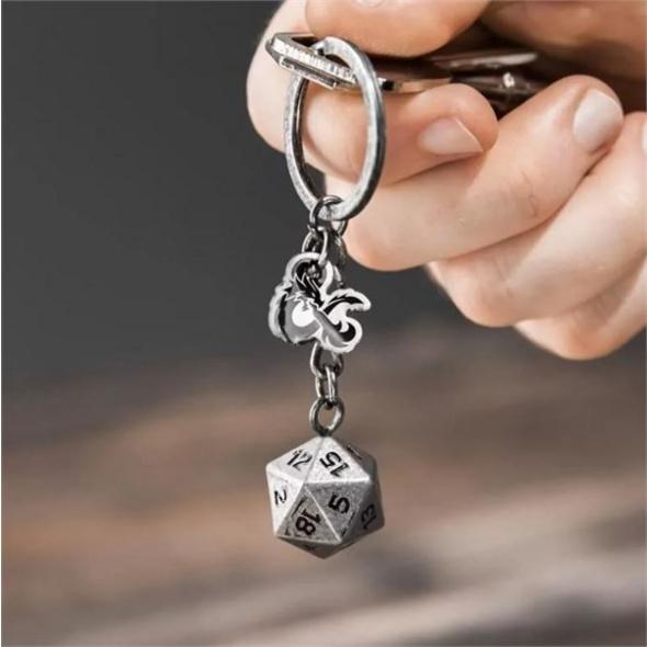 Dungeon & Dragons - Schlüsselanhänger D20