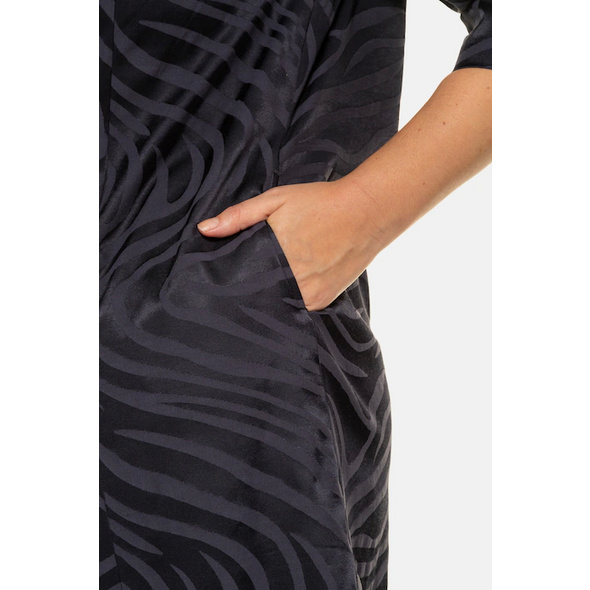 Tunika, Zebra-Jacquard, 3/4-Ärmel, selection