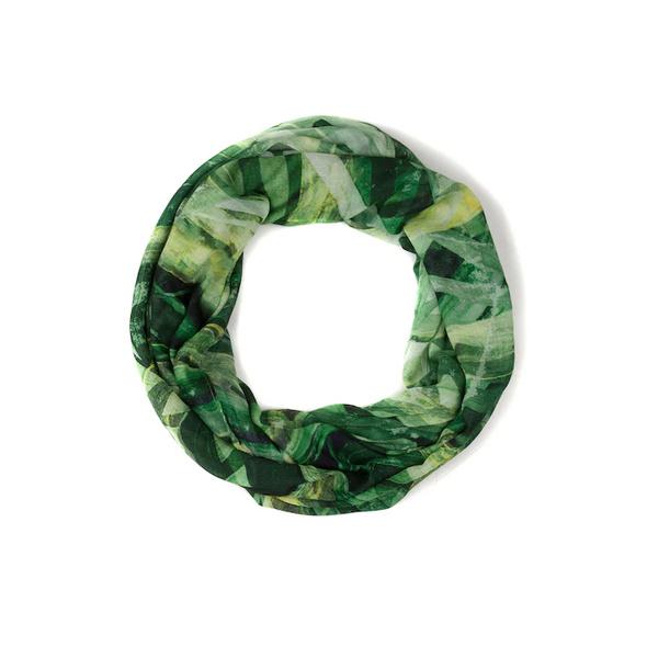 Schal, Blätterdruck, Viskose