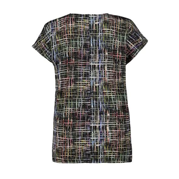 Slinkyshirt, modernes Karo-Design, oversized, selection