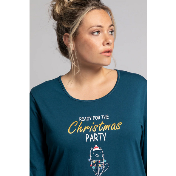 Longshirt, Christmas Party, Langarm