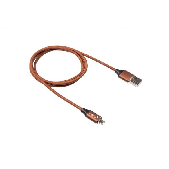 tolino Micro USB-Kabel - cognac