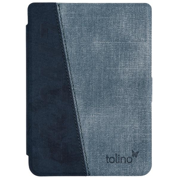 tolino shine 3 - Tasche Slim - denim blue