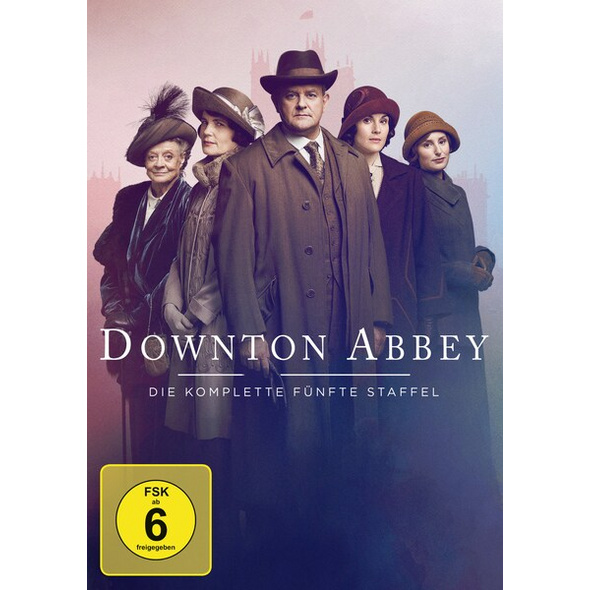 Downton Abbey - Staffel 5  [4 DVDs]