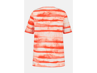 T-Shirt, Ankermotiv, Classic, Batikstreifen