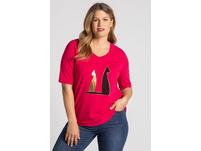 T-Shirt, Katzenmotiv, Classic, Biobaumwolle