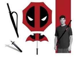 Deadpool - Regenschirm Katana