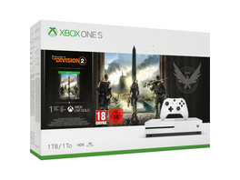 Xbox One S Konsole 1TB inkl. Tom Clancy's: The Division 2