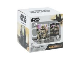 Star Wars - Tasse Mandalorian Thermoeffekt