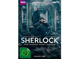 Sherlock - Staffel 4  [2 DVDs]
