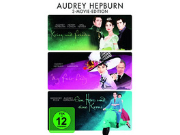 Audrey Hepburn - 3-Movie-Edition  [3 DVDs]